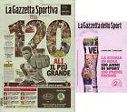 GAZZETTA SPORT SPORTIVA VERDE 03/04/2016 120 ANNIVERSARIO+SPECIALE PRIME PAGINE