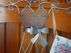 Metal Lady Dress mannequin Style Jewelry Holder Stand Silver