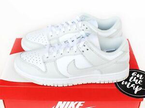 Nike Dunk Low Photon Dust Grey White UK 3 4 5 6 7 8 9 US New