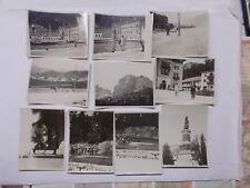 CARTOLINA TRENTINO TRENTO RIVA DEL GARDA LOTTO 10 FOTO GITA TURISTICA