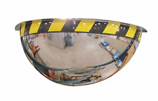 "NEW! 36"" DIAMETER ACRYLIC DOME, 180° SECURITY MIRROR, 5NAL2"