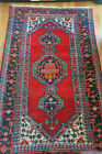 antique tapis persan / Persian rug tribal Hamadän Hamadhän Hamedän 220 X 130 cm