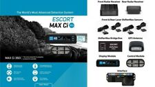 New listing Escort Max Ci 360 Radar Detector with Laser Shifters *New*