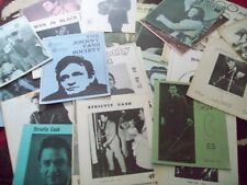 40 johnny cash fan club newsletters from late 1960s to early 70s j cash society
