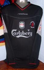 REEBOK LIVERPOOL AWAY FA CUP 2002 LS LONG M GERRARD ORIGINAL JERSEY SHIRT