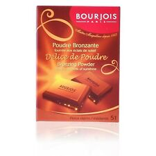 Bourjois Delice De Poudre Bronzer Bronzing Powder 52 Taned and Dark Complexio...