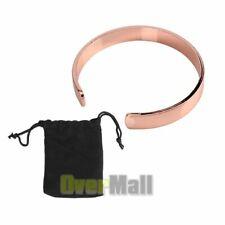 Pure Copper Magnetic Bracelet men women Arthritis Pain Relief Balance Energy New