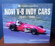 Novi V-8 Engine Indy Racing Cars (100+) PICS Ludvigsen Book 1941-1965