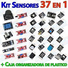 Kit de 37 sensores para Arduino con caja estuche de 37 en 1 lote modulos DIY