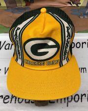 Green Bay Packers Vintage SnapBack Hat Cap New Era Mesh Trucker Dupont Visor