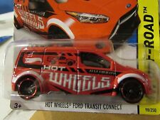Hot Wheels Ford Transit Connect Hw Off-Road Red