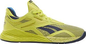 Reebok Nano X Womens Training Shoes - Yellow