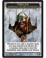 Garruk, Caller of Beasts Emblem CHINESE  Card  EX/NM  M14  MTG Magic Token