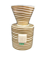 New listing Coton Colors Happy Everything Gold Stripe Mini Vase New W/O Box