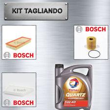 Kit tagliando Peugeot 206+ 1.1, 1.4 BENZINA BOSCH + olio TOTAL