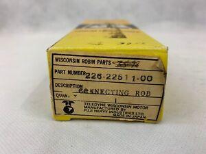 Wisconsin Robin Subaru Engines Connecting Rod #226-22511-00 OEM EY15-2B, EY15