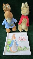 BEATRIX POTTER PLUSH PETER RABBIT, FLOPSIE & TOUCH 'N READ POP-UP ADVENTURE BOOK