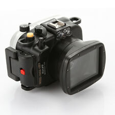 Meikon 40M Underwater Waterproof Housing Transparent Case for Sony HX90 Camera