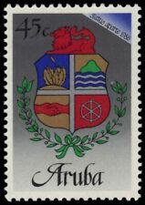 """ARUBA 19 (Mi2) - Independence """"Coat of Arms"""" (pb18652)"""