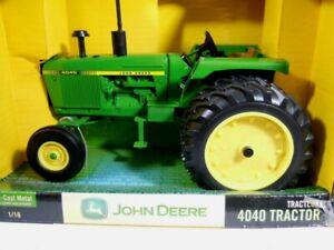 Ertl John Deere 4040 w/duals 1/16 diecast farm tractor collectible MIB