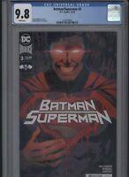 Batman/Superman #3 CGC 9.8 Joshua Williamson DAVID MARQUEZ 2019