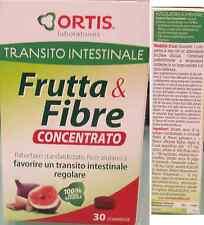 Frutta e Fibre Concentrato Ortis per transito intestinale con Rabarbaro Fico 30c