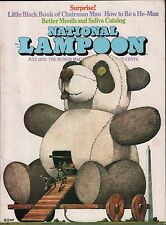 National Lampoon July 1972 Surprise EX 122915DBE