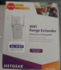 NETGEAR AC750 IEEE 802.11ac 450Mbps Wireless Range Extender