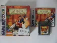 POUR L'OR ET LA GLOIRE LA ROUTE D'ELDORADO - NINTENDO GAME BOY COLOR - COMPLET