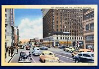 Hollywood CA And Vine California Street View Rexall Drugs Cars Linen Pantages