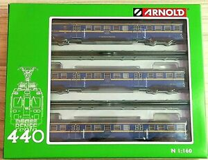 DIGITAL SONIDO - ARNOLD HN2440S Renfe Automotor UT-440 Azul Am. Ep.IV Escala N