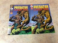 PREDATOR JUNGLE TALES & CLASSIC JUNGLE TALES LOT OF 2 NM COMIC 95/96 DARK HORSE