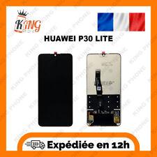 Ecran LCD Complet + Vitre tactile HUAWEI P30 Lite Noir
