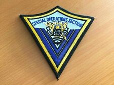 Special Operation Section Patch