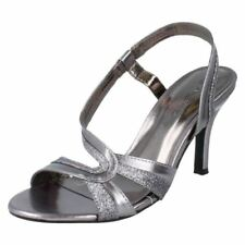 Scarpe da donna grigio formale sintetico