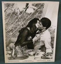 Elvis Presley B/W 8 x 10 Photo Still Harum Scarum 1965 Kissing Girl