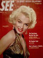 Marilyn Monroe Magazine 1953 SEE Powolny 20th Fox Gentlemen Prefer Blondes VG