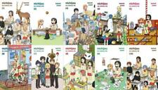 The Nichijou MANGA Series Paperback Collection Set Books 1-10 by Keiichi Arawi