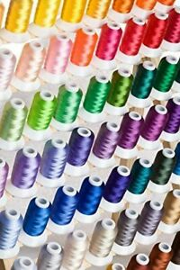 Polyester Embroidery Machine Thread 63 Colors for Brother Babylock Janome