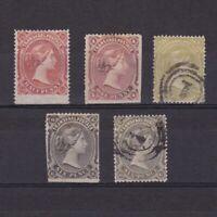 TRANSVAAL SOUTH AFRICA 1878, SG# 133-139, CV £100, shades, NG/MH/Used