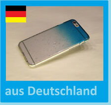 IPhone 6 RainDrop Schutzhülle HardCase Hülle * Premium Optik * Regentropfen B8H