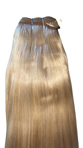 MONGOLIAN DOUBLE DRAWN 20'' 150g WEFT HUMAN HAIR EXTENSIONS SHADE #24
