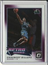 2017-18 Optic Basketball - Chauncey Billups Retro Series #24 - Timberwolves
