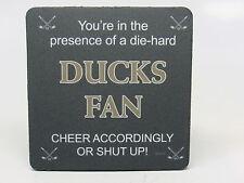 Tree-Free Greetings NC38170 Ducks Hockey Fan 4-Pack Artful Coaster Set