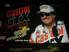 ACTION #83 NHRA JOHN FORCE 1998 MUSTANG FUNNY CAR 1/24 7X CHAMPION CASTROL