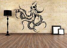Wall Vinyl Sticker Decal Octopus Cthulhu Kraken decal custom stickers sea g592