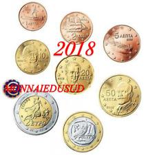 Série 1 Cent à 2 Euro BU Grèce 2018 - Brillant Universel