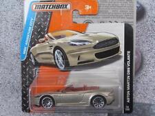 Matchbox 2015 #018/120 aston martin dbs volante gold adventure city soft top