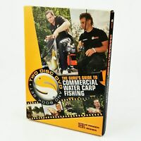 ~ The Guru's Guide To Commercial Water Carp Fishing ~ Two Disc DVD & Book Set ~