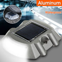 Waterproof Solar Power LED Light Driveway Road Stud Path Step Dock Outdoor   AU